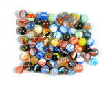 (66) Peltier Marbles Mostly Rainbows And Champion Juniors.