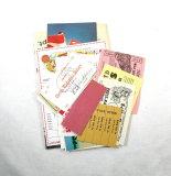 (17) 1960's Era Circus Paper Documents And Memorabilia.