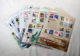 Collector Stamps. 11 Souvenier Sheets Decades Of The Century. (60) 32 Cent