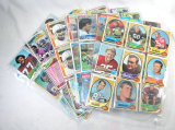 (60) 1970's Early 1980's Mixed Football Cards.