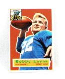 1956 Topps Football Card # 116 Bobby Layne.
