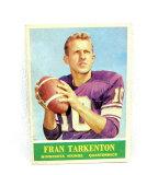 1964 Philadelphia Football Card # 109 Fran Tarkington.