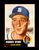 1953 Topps Baseball Card Short Print #147Hall of Famer Warren Spahn Boston Image 1