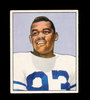 1950 Bowman Football Card #14 George Taliaferro  New York Yanks. EX to EX-M