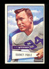 1952 Bowman Large Football Card #11 Barney Poole Dallas Texans. EX to EX-MT