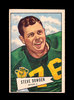 1952 Bowman Large Football Card #40 Steve Dowden Green Bay Packers. EX to E