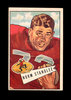 1952 Bowman Large Football Card #42 Norm Standlee San Francisco 49ers. EX t