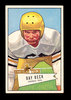 1952 Bowman Large Football Card #51 RayBeck New York Giants. EX to EX-MT Co