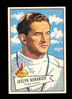 1952 Bowman Large ROOKIE Football Card #75 Joseph Kuharich COACH Chicago Ca