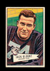 1952 Bowman Large Football Card #80 Jack Carr Blount Philadephia Eagles. EX