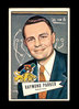 1952 Bowman Large ROOKIE Football Card #84 Raymond Parker COACH Detoit Lion
