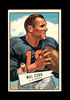 1952 Bowman Large Football Card #87 Mal Cook Chicago Cardinals. EX to EX-MT