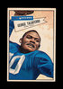 1952 Bowman Large Football Card #89 George Taliaferro Dalas Texans. EX to E