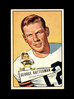 1952 Bowman Large Football Card #111 George Ratterman Cleveland Browns. EX