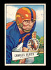 1952 Bowman Large Football Card #134 Charles Ulrich Chicago Cardinals. EX t