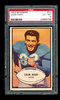 1953 Bowman Football Card #31 Leon Hart Detroit Lions. Graded PSA EX to EX-