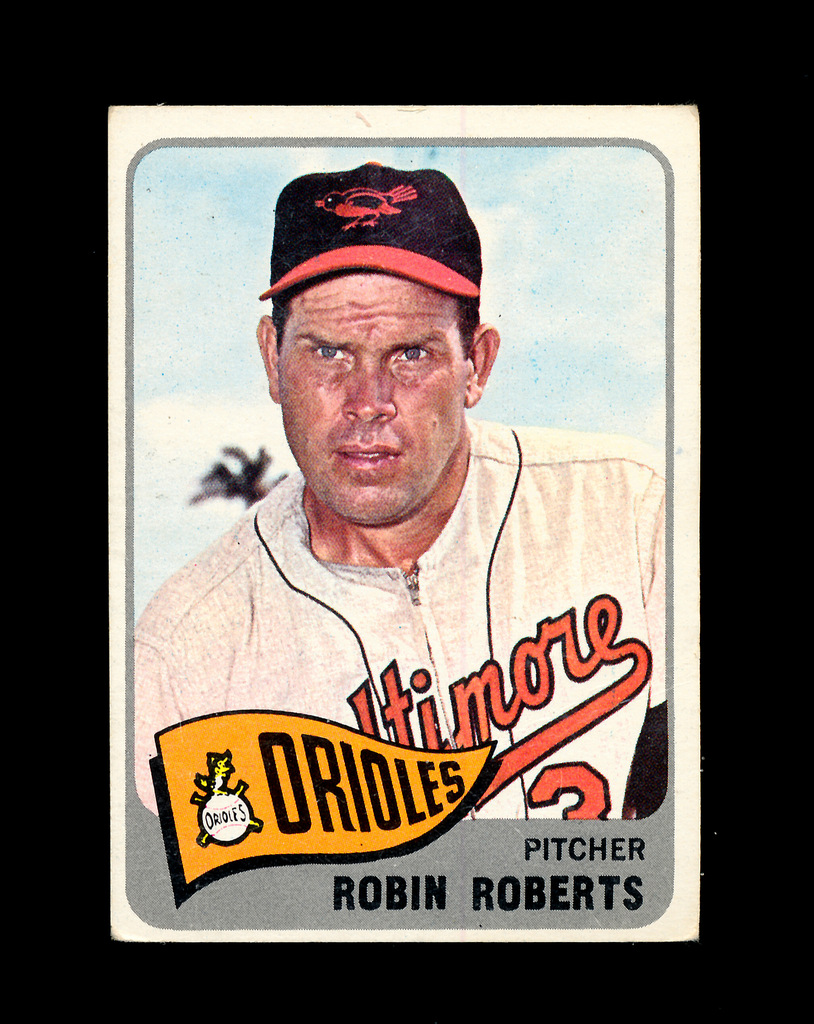 Lot 1965 Topps Baseball Card 15 Hall Of Famer Robin