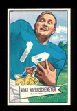 1952 Bowman Large Football Card #79 Robert Hoernshemeyer.  EX to EX-MT Cond
