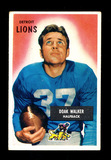 1955 Bowman Football Card #1 Hall of Famer Doak Walker Detroit Lions.  EX t