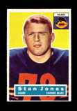 1956 Topps ROOKIE Football Card #71 Rookie Hall of Famer Stan Jones Chicago