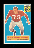 1956 Topps Football Card #74 Hall of Famer Leo Nomellini San Francisco 49er