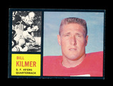 1962 Topps ROOKIE Football Card #151 Rookie Billy Kilmer San Francisco 49er