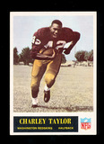 1965 Philadelphia ROOKIE Football Card #195 Rookie Hall of Famer Charley Ta
