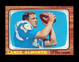 1966 Topps Football Card #119 Hall of Famer Lance Alworth San Diego Charger