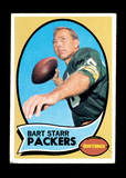 1970 Topps Football Card #30 Hall of Famer Bart Starr Green Bay Packers. EX