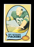 1970 Topps Football Card #55 Hall of Famer Ray Nitschke Green Bay Packers.