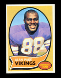 1970 Topps ROOKIE Football Card #59 Rookie Hall of Famer Alan Page Minnesot