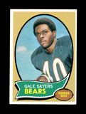 1970 Topps Football Card #70 Hall of Famer Gale Sayers Chicago Bears. EX-MT