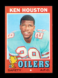 1971 Topps ROOKIE Football Card #113 Rookie Hall of Famer Ken Houston Houst