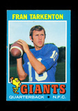 1971 Topps Football Card #120 Hall of Famer Fran Tarkenton Minnesota Viking