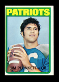 1972 Topps ROOKIE Football Card #65 Jim Plunkett New England Patriots. EX-M