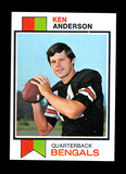 1973 Topps ROOKIE Football Card #34 Rookie Ken Anderson Cincinnati Bengels.