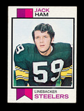 1973 Topps ROOKIE Football Card #115 Rookie Hall of Famer Jack Ham Pittsbur