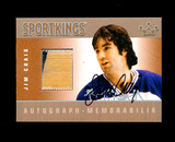 2010 Sportkings Autograph/Memorabillia Hockey Card #AM-JCR1 Silver Version