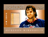 2010 Sportkings Autograph/Memorabillia Hockey Card #AM-JCR2 Silver Version