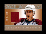 2009 Sportkings Autograph/Memorabillia Hockey Card #AM-JS1 Silver Version J