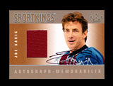 2009 Sportkings Autograph/Memorabillia Hockey Card #AM-JS2 Silver Version J