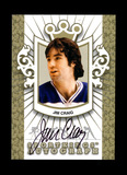2010 Sportkings Autograph/Memorabillia Hockey Card #A-JCR1 Gold Version Jim