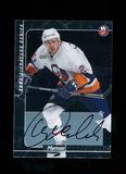 2001 Signature Series Autographed Hockey Card #111 Mariusz Czerkawski. Near