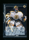 2001 Signature Series Autographed Hockey Card #174 John Grahame. Near Mint