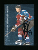 1999 In The Game Inc Millenium Signature Series Autoraphed Hockey Card #64