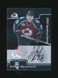 2002 in the Game Inc Signature Series Autographed Hockey Card #114 Steven R