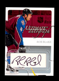 2004 In The Game Inc Ultimate Autograph Hockey Card #84 which is 88/135 Sig