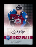 2008-2009 Upper Deck Signatures Autographed Hockey Card #S-WW Wojtek Wolski