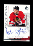 2006-2007 Upper Deck Future Watch Autographed Hockey Card #173 Dustin Byfug