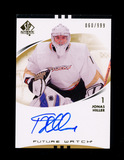 2007-2008 Upper Deck Future Watch Autographed Hockey Card #191 Jonas Hiller